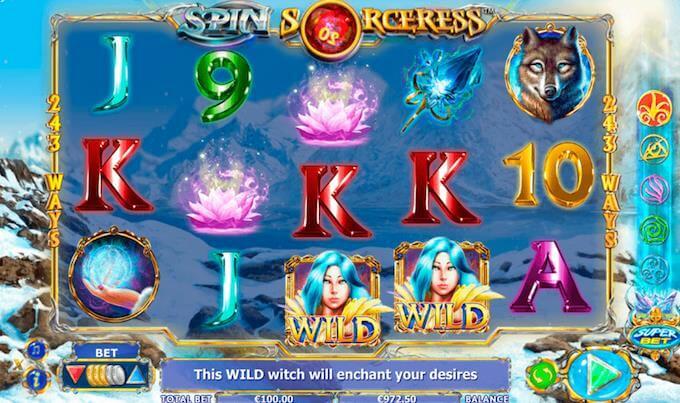 Spin Sorceress Nextgen Slot