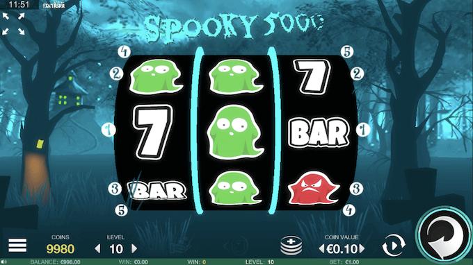 Spooky 5.000 Fantasma Slot