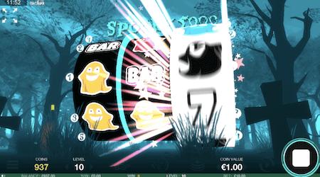 Spooky 5000 Fantasma Slot Special Effect