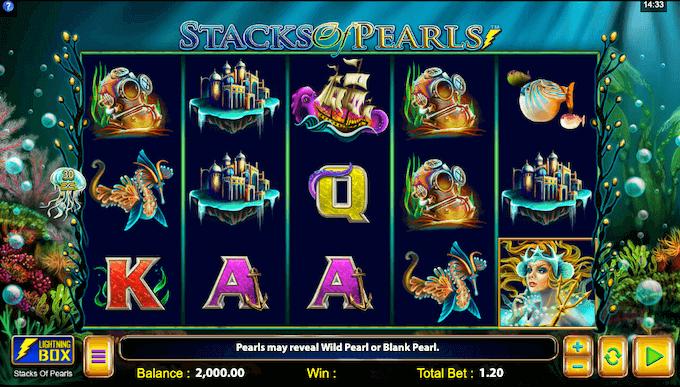 Stacks of Pearls Lightning Box Slot