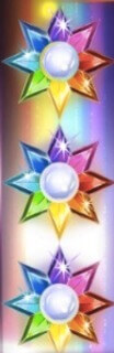 Starburst bunte Sterne