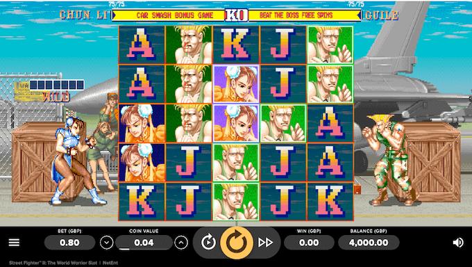 Street Fighter II NetEnt