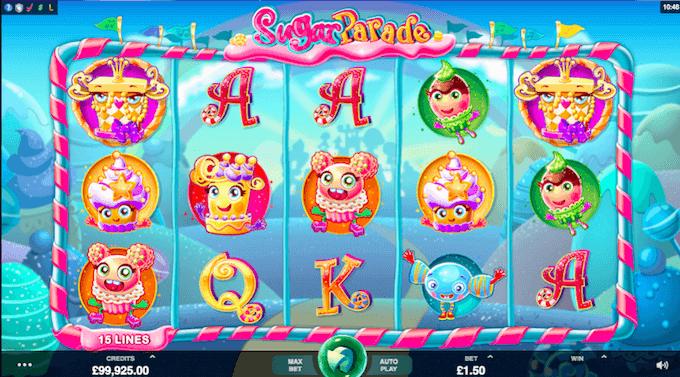 Sugar Parade Microgaming Slot