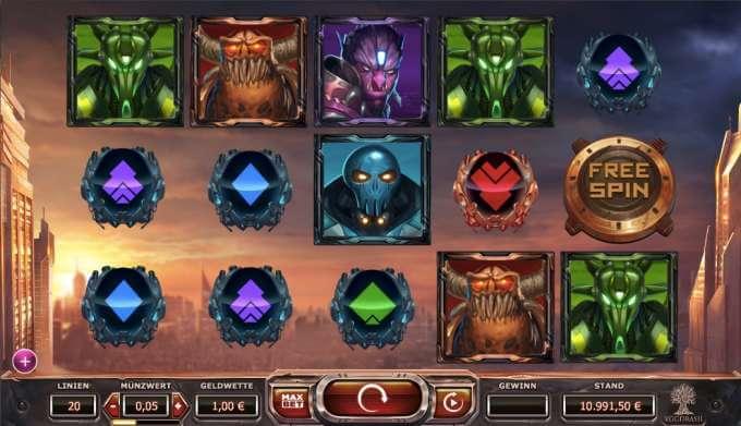Super Heroes Slot Yggdrasil