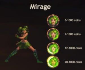 Mirage Super Heroes Slot Yggdrasil Bonus Feature