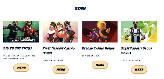 Svenbet Casino Boni