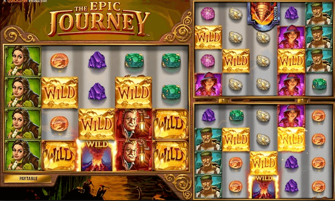 The Epic Journey Quickspin Slot