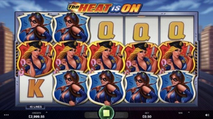 The Heat Is On neuer Microgaming Slot