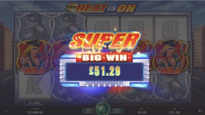 The Heat is On Slot Microgaming Super Win