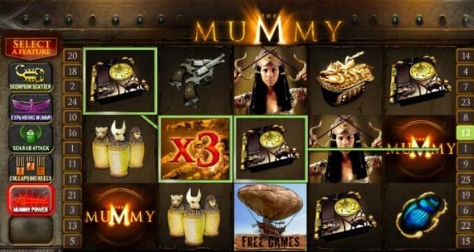 The Mummy Slot Playtech