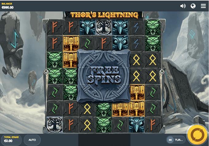 Thor's Lightning Red Tiger Slot