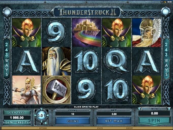 Thunderstruck 2 Slot Microgaming