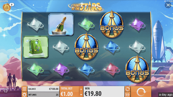 Ticket to the Stars Quickspin