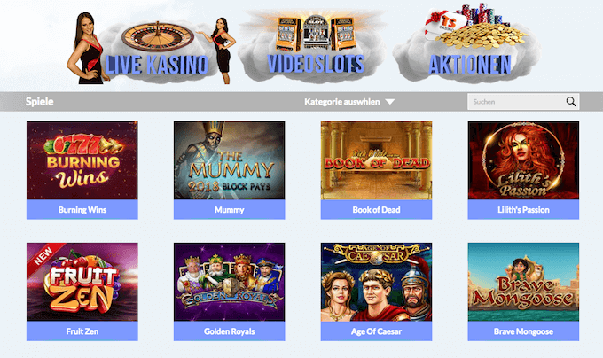 Times Square Online Casino Angebot