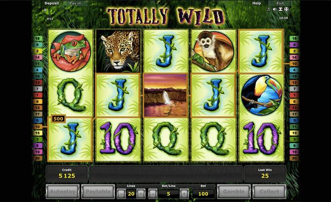 Totally Wild Slot Novomatic