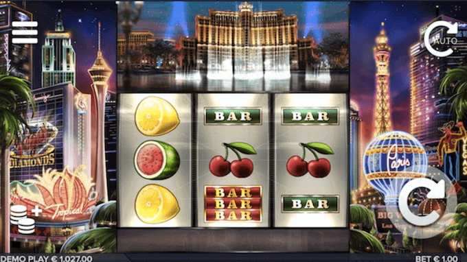 Vegas Diamonds ELK Studios Slot