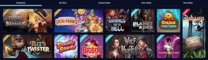 VegasCasino Spiele Slots