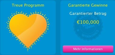 Vera & John Online Casino Treue Programm