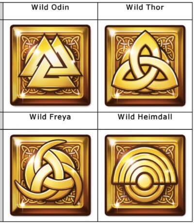 Viking Runecraft Slot Wild Symbole