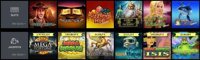 Viks Online Casinos Slots Spieleauswahl