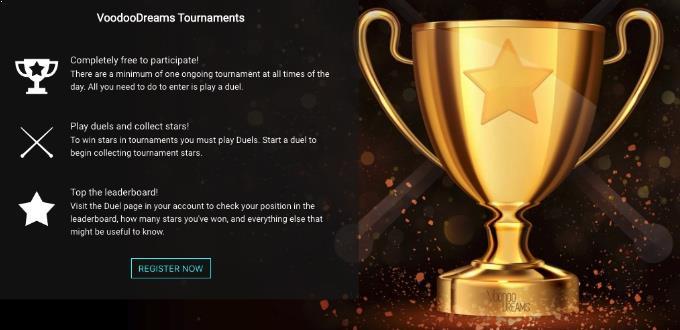 VoodooDreams Casino Turniere
