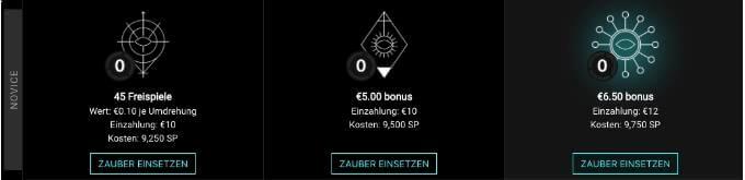 VoodooDreams Casino Zauber