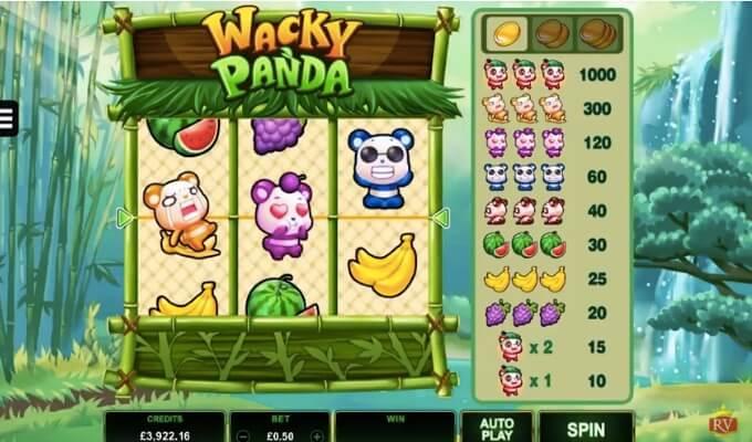 Wacky Pandy Microgaming Slot