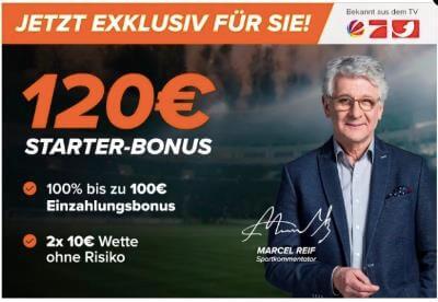 Wetten.com Willkommensbonus Sport