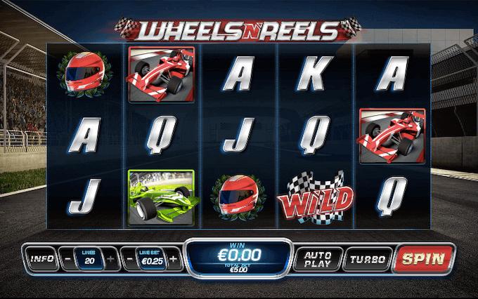 Wheels N' Reels Playtech