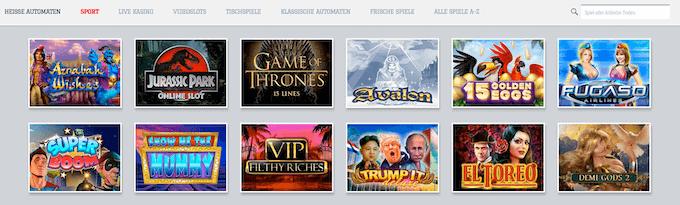 White Lion Casino Spiele