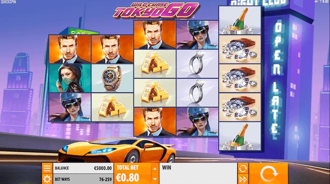 Wild Chase Tokyo Go Slot Quickspin