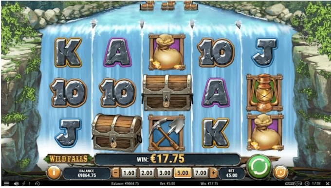 Wild Falls Play'n GO Slot