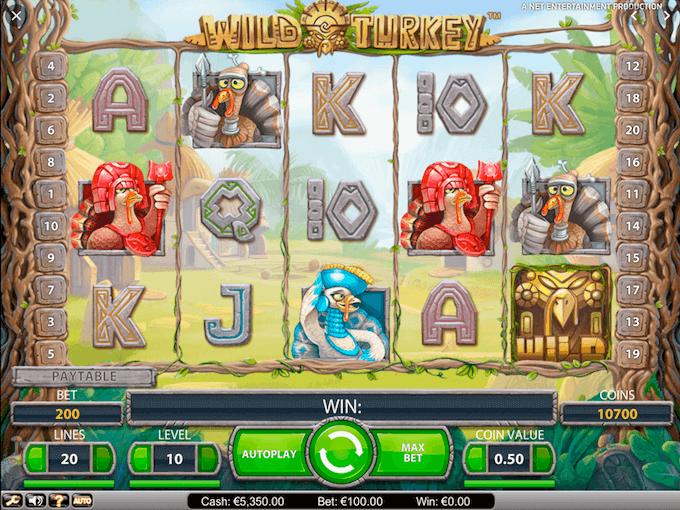 Wild Turkey Slot NetEnt