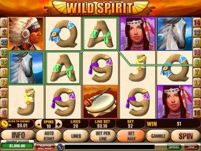Wild Spirit Slot Screenshot