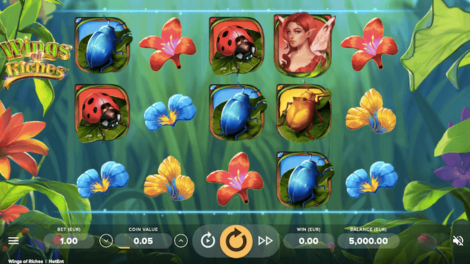 Wings of Riches NetEnt Slot