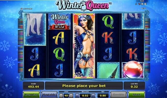 Winter Queen Novomatic