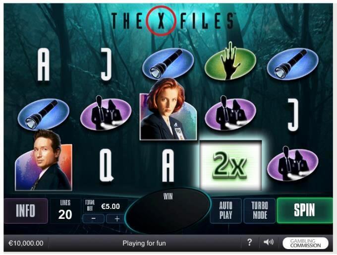X-Files Playtech Slot