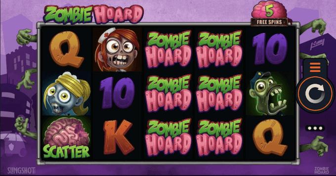 Zombie Hoard Microgaming Slot